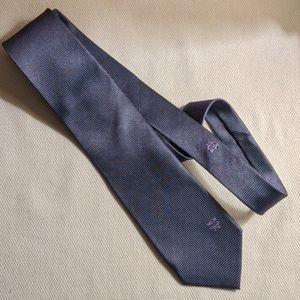 MCM tie in gray blue color
